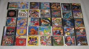 Super-PC-Engine-Turbo-Grafx-Duo-Spiele-zur-Auswahl-Top-Raritaten-viele-SHMUP