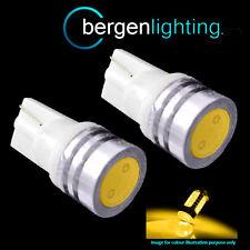 2X W5W T10 501 AMBER LED AD ALTA POTENZA SMD LAMPADINE FRECCE LATERALI SR100702