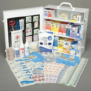 Pac-Kit® 75 Person First Aid Station, 3-Shelf Industrial
