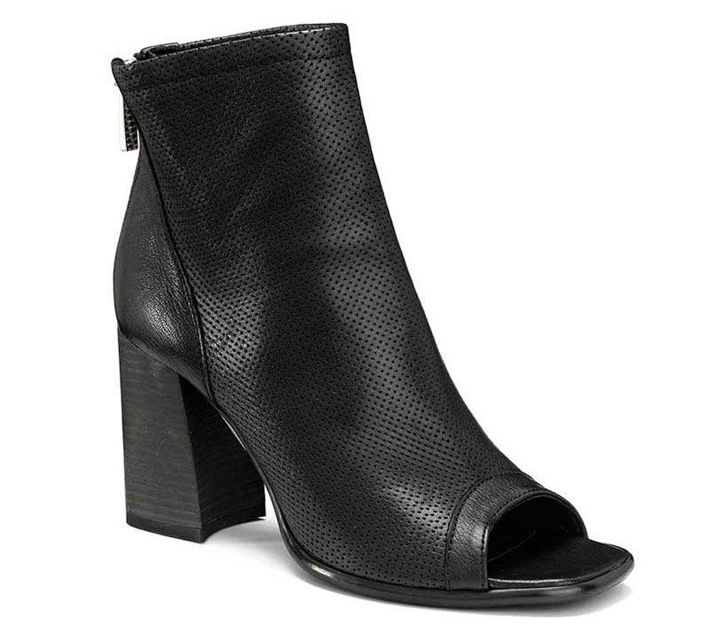Último gran descuento KEYS 5141 NERO scarpe donna sandali alti stivaletti tacco aperti casual pelle