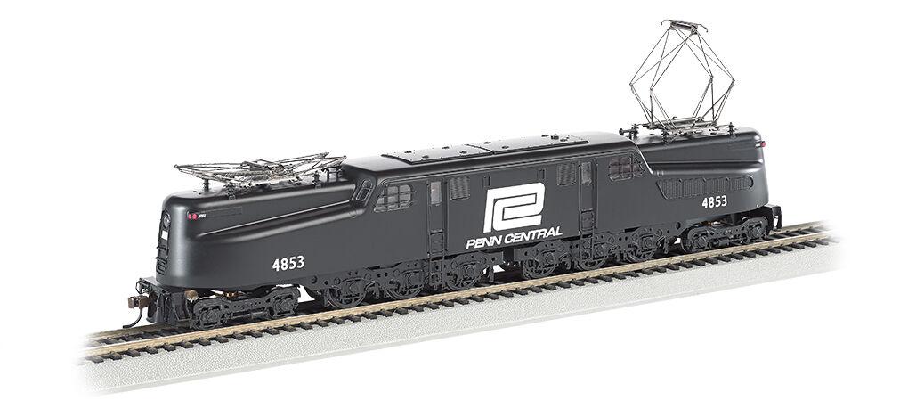 Bachmann 65305 HO Scale Penn Central Blk w  Wht Letter DCC Sound Value GG1