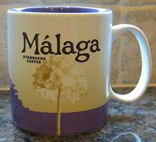 NWT Starbucks MALAGA Spain Global Icon City Collector Series Mug with SKU