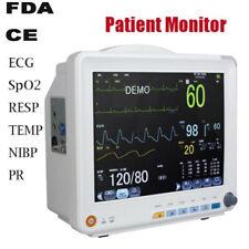 12 Inch Icu Ccu 6 Parameter Patient Monitor Vital Sign Cardiac Health Monitor