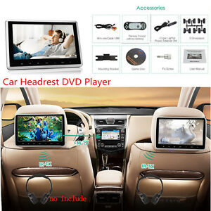 10-1-039-039-Car-Headrest-Monitor-DVD-Player-USB-SD-HDMI-FM-Game-TFT-LCD-Touch-Screen