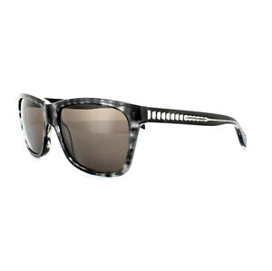 121a4a4ae7 Details about Alexander McQueen Sunglasses 4253 S 8SX EJ Spotted Black Grey  Brown