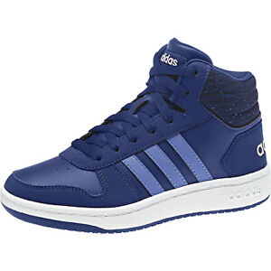 brand new 931b6 974be ... Adidas-pour-Enfants-Chaussures-Bottes-Hoops-mi-2-