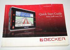 GUIDE D'UTILISATION GPS TRAFFIC ASSIST HARMAN/ BECKER 7928 .