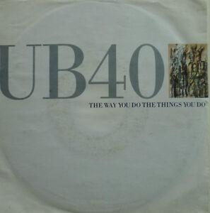 "7"" 1989 VG+ ! UB 40 I The Way You Do The Things You Do"