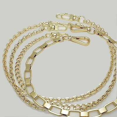 k-craft Purse chain strap replacement Gold handle shoulder crossbody handbag