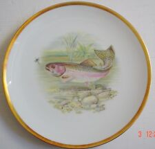 Hutschenreuther Bavaria Germany Collectors Plate RAINBOW TROUT