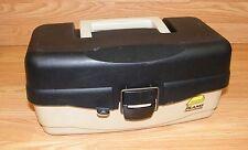 PLANO (5100) Black Handy Fishing Tackle System Box w/ Single Pop-up Tray *READ*