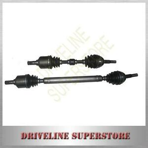 A-set-of-Two-CV-JOINT-DRIVE-SHAFTS-FOR-NISSAN-PULSAR-N15-1-6L-MANU-brand-new