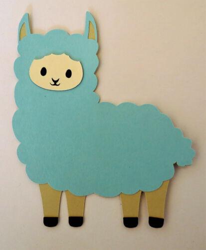 Llama Cute Animals Cardstock Paper Die Cut Scrapbook Embellishment Pick ONE