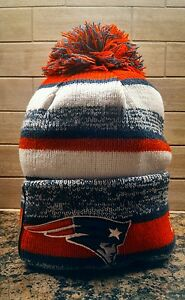 2014 NFL NewEra New England Patriots On Field Sport Knit Hat ... 218a043631c1