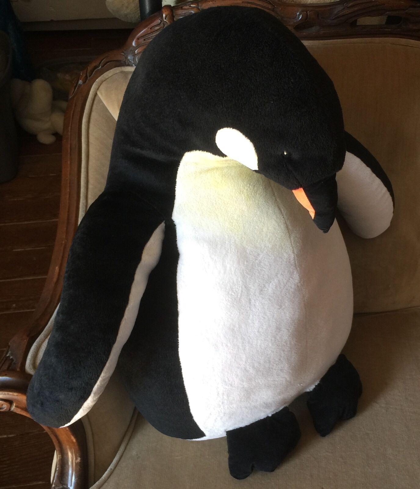 Jumbo Plush Penguin 23