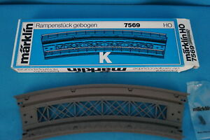Marklin 7569 Curved Bridge ramp K Track