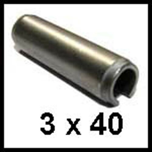 3mm x 40mm Stainless Steel Roll Pins 3mm x 40mm Stainless Spring Pins x25