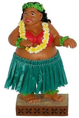 """New Hawaiian Hawaii Souvenir Mini Dashboard Hula Doll ~ Sweet Wahine 4"""" #40667"""