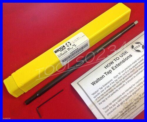 "New Walton 40043 Style B 7//16/"" 11mm Tap Extension Machine /& Hand USA MADE"