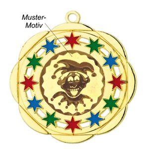 Karnevalsorden-50mm-gold-bunt-034-Koethen-034-inkl-Emblem-amp-Band-nur-1-99-EUR-Stueck