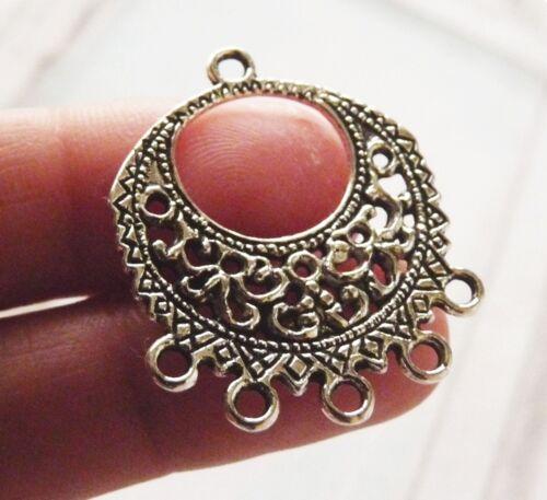 6Pcs Chandelier Earring Findings 5 Trou Collier CONNECTEUR pendentifs pour bijoux