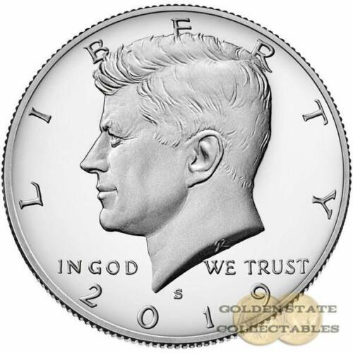 Perfect Gem Proof .FROM PROOF SET 2019 S Kennedy CLAD PROOF  Half Dollar
