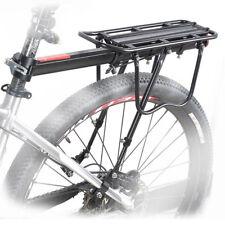 Bike Rear Rack Bicycle Seat Back Post Frame Carrier Holder Cargo Rack 60KG