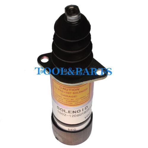 Stop Solenoid 1500-2011 1502-12D6U1B2S1A for Woodward 12V