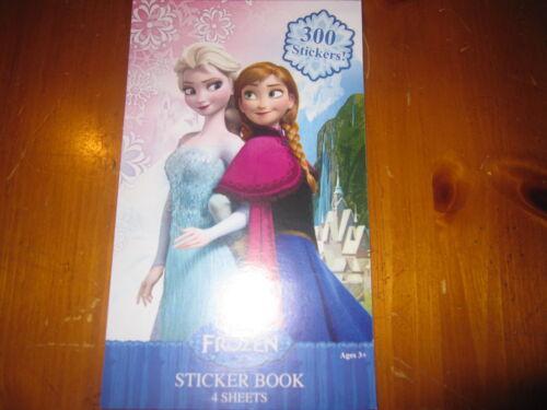 300 stickers Elsa Anna Kristoff Olaf NEW Disney Frozen Sticker Book