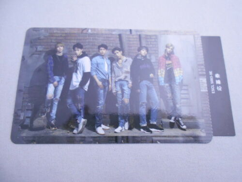 Lot 7 GOT7 The New Era Official Trading card full set Complete  F//S