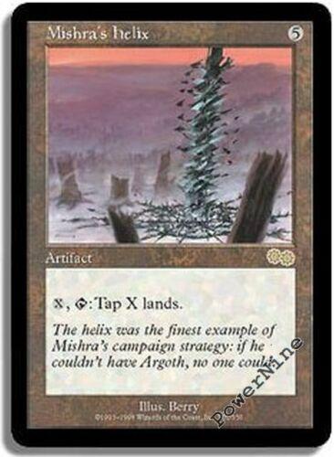 1 Mishra/'s Helix = Artifact Urza/'s Saga Mtg Magic Rare 1x x1