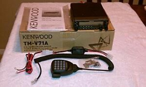 Details about Kenwood TM V71A Radio Transceiver- amateur radio