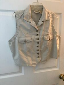 Women/'s St MSRP $44 Various Colors /& Sizes John/'s Bay Quilted Vest