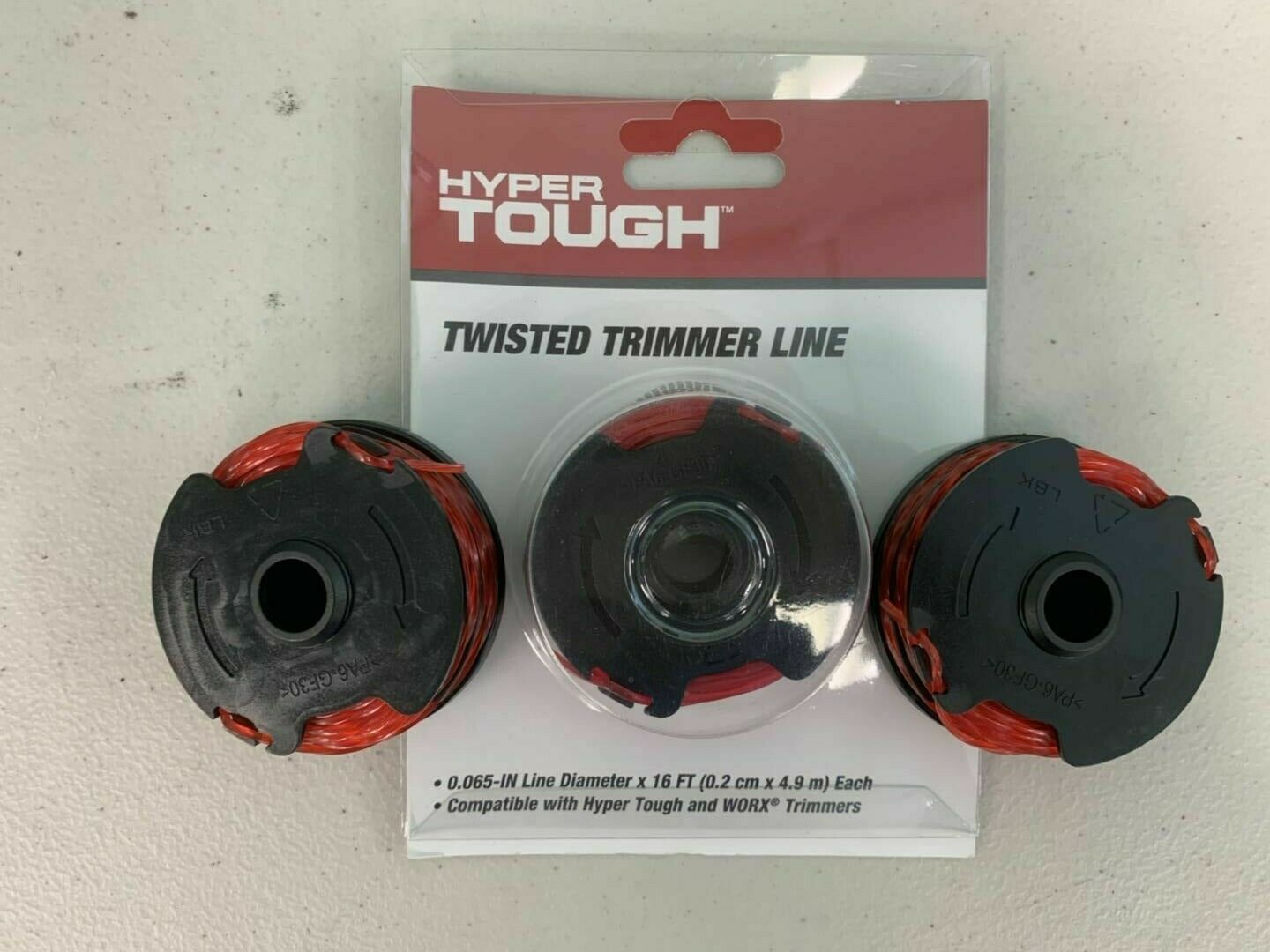Hyper Tough Twisted Trimmer Line Replacement Spool HT18-401-004-01