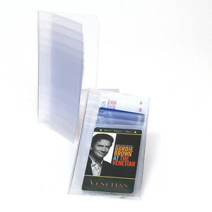 Checkbook-Plastic-Insert-For-Pictures-Cards-6-Pages-SET-OF-2-Inserts-Made-in-USA