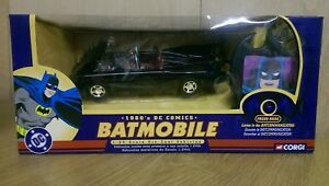 RARE-Corgi-77501-1960-039-s-DC-Comics-1-24-diecast-Batmobile-with-BatCommunicator