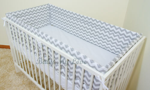 420//360cm long to fit Cot 120//60cm or Cot Bed 140//70cm All Round BUMPER approx