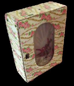 Ancien-Jouet-Armoire-Poupee-Cintre-Vintage-1970-decor-de-Rose-Simili-Vintage