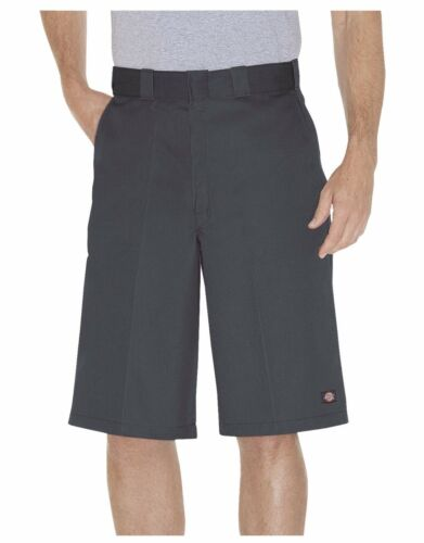 "New Dickies Men/'s Charcoal 13/"" Multi-Pocket Pocket Loose Fit Work Shorts 42283"