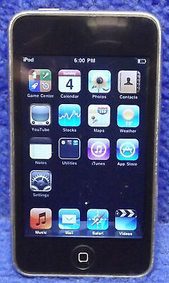 BlackUsed Apple iPod Touch 2nd Gen MC086LL 8 GB