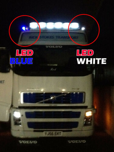 24V 501 High Power LED Side Lights Lamps For Mercedes Actros Atego Axor Econic