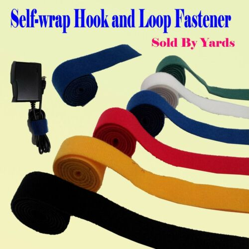 Self Wrap Fastener Double Side Hook and Loop Cable Wire Tie Straps Reclosable