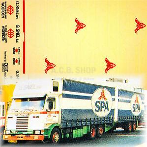 Scania-Spa-G-Snel-B-V-Holland-Nl-1-87-Camion-Autocollant-Decalcomanie