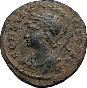 CONSTANTINE-I-the-GREAT-Founds-Constantinople-Original-Ancient-Roman-Coin-i67672