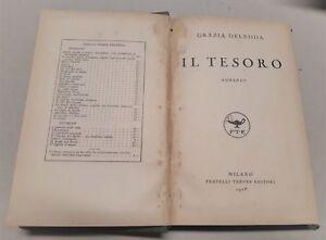 Grazia-Deledda-Il-tesoro-Treves-1928