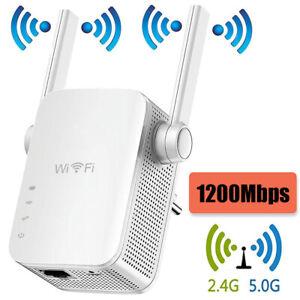 Répéteur Wifi 1200mbps Routeur Amplificateur Extensions Booster Signal Sans Fil