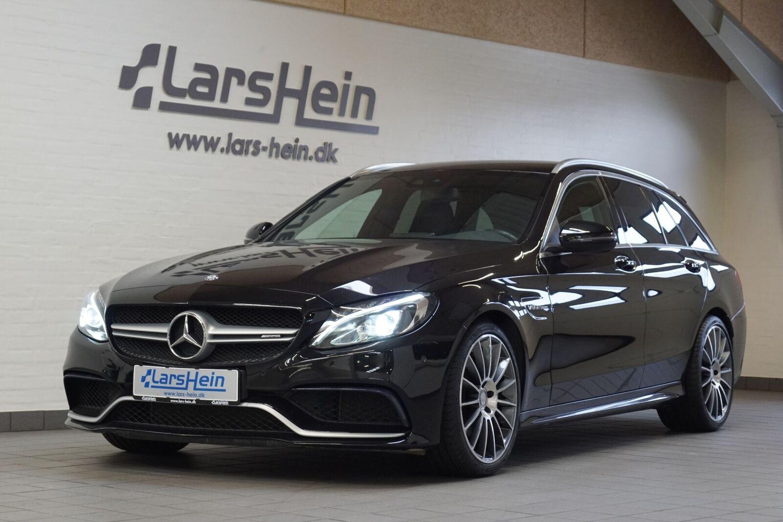 Mercedes C63 4,0 AMG stc. aut. 5d - 3.517 kr.