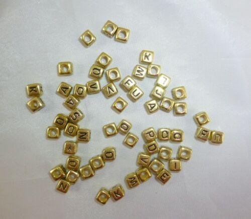 X3 156 Carta De Oro Perlas-Alphabet Telar Banda Beads-Uso Con Telar Bandas hl398