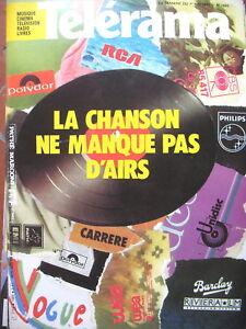 1685-DISQUE-LA-CHANSON-NE-MANQUE-PAS-D-039-AIR-LAVANANT-MICHEL-POLAC-TELERAMA-1982