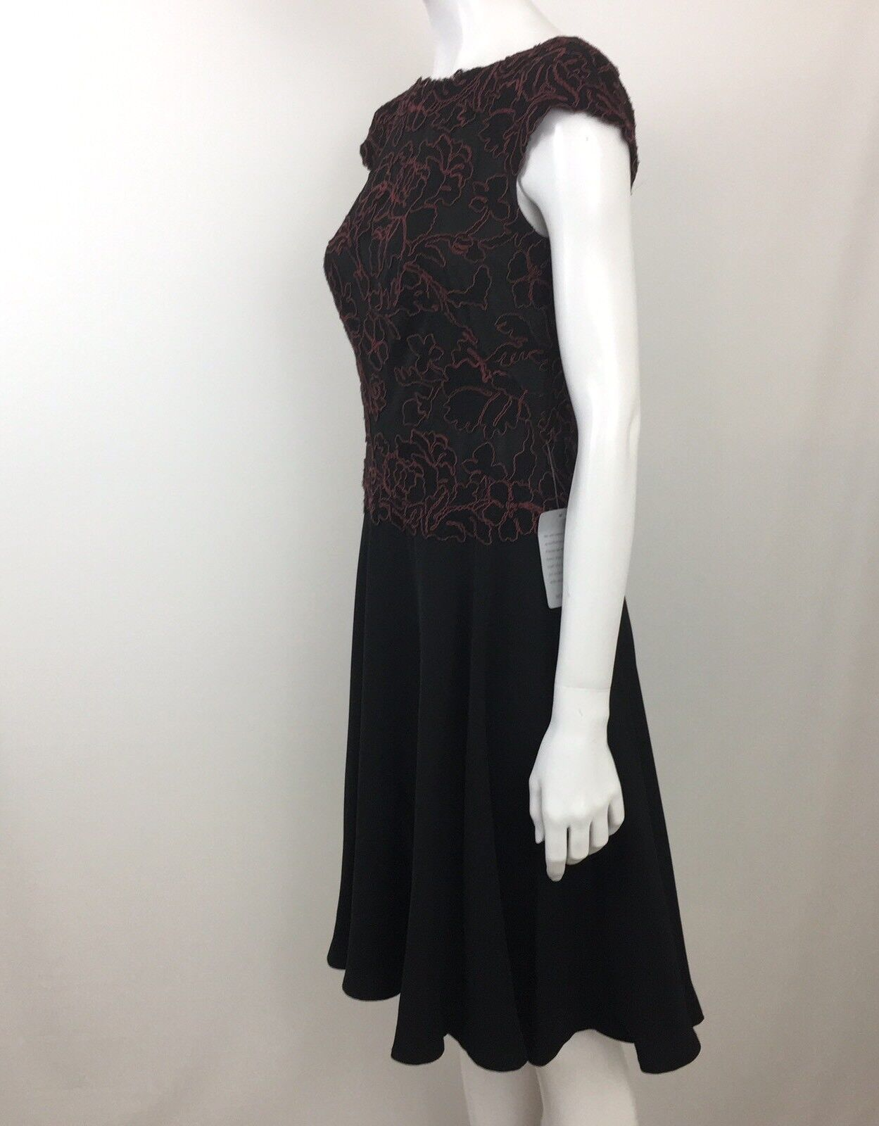 Tadashi Shoji Floral Embroidered Lace Fit & Flare Party Party Party Dress Size 10P New 741cb1